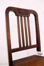 Antik Jugendstil Stuhl Brettstuhl Kneipenstuhl Küchenstuhl / Antique Art Nouveau