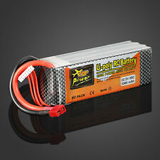 ZOP Power 22.2V 3300MAH 6S 35C Lipo Battery T Plug For RC Quadcopter Helicopter