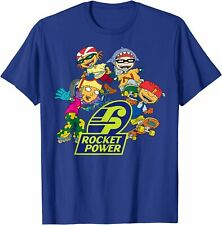 Nickelodeon Rocket Power Character T-Shirt New 100% cotton Tees S-3XL Unisex