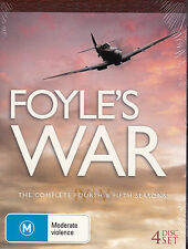 Foyle's War - The Complete Fourth & Fifth Seasons - DVD (R4  Brand New Sealed)