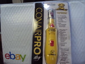 CONAIR PRO PET Corded Dog Nail Grinder - Model PGRDNG   BRAND NEW FREE SHIPPING