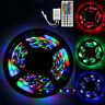 5M RGB 3528 300 Led SMD Flexible Light Strip Lamp+44 key IR Remote Controller US