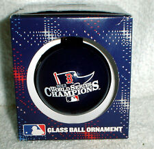 BOSTON RED SOX 2013 WORLD SERIES CHAMPS CHRISTMAS ORNAMENT IN COLLECTORS BOX NEW