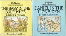 THE BABY IN THE BULRUSHES / DANIEL IN THE LION'S DEN Enid Blyton ~ 4 STORIES SC