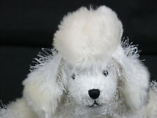 FULL SIZE WEBKINZ PLUSH ONLY NO CODE WHITE T-CUP POODLE FREE SHIPPING SOFT TOY