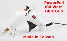 Combo - White Glue Gun 100 Watt + 10 Pcs Glue Sticks Hot Melt