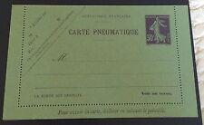 France Entier Postal N° CLPPI 30 C Violet Neuf TB Qualité Côté 85€