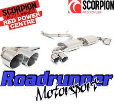 SCORPION SAU pari a quello 026 AUDI TT MK2 3.2 V6 Sistema Di Scarico Cat Indietro Non Res QUAD DAYTONA