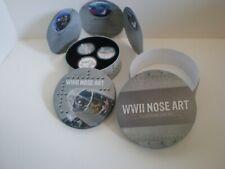 2012 W0Rld War Ii Nose Art 3 - 1 Ounce Silver Coins