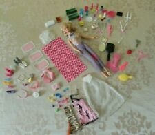 Job lot vintage Barbie 1998 pull cord long short hair plus accessories
