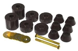 Prothane Black Body Mount 12 Bushing Kit for 1973-1980 Chevy/GMC Pickup 7-104-BL