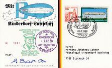 D. Zeppelin - Luftschiff - 150. Geburtstag Graf Zeppelin  1988
