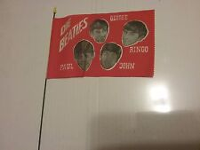 BEATLES 1964 GERMAN TOUR FLAG BANNER NMINT SCARCE CREASE VINTAGE HTF!