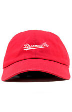 Dreamville Custom Unstructured Dad Hat Cap J Cole TDE Nation New-Red
