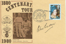 Alec BEDSER Signed Autograph Cricket Centenary First Day Cover FDC COA AFTAL