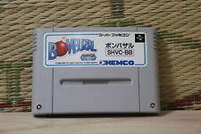 Bombuzal Bomber Saru Nintendo Super Famicom SFC Very Good Condition!
