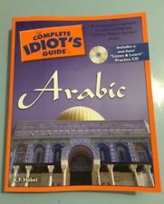 The Complete Idiot's Guide Arabic H.F. Habel & Practice CD Rom Next Day Shipping