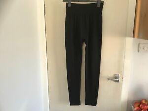 Women's Fleece Lined Leggings Black one size