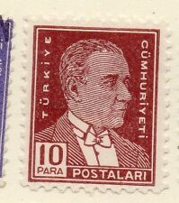 Turkey 1950-51 Early Issue Fine Mint Hinged 10k.