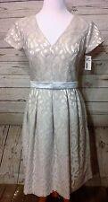 Dessy Collection By Vivian Diamond Formal Dress Ladies Sz.12 Ivory NWT