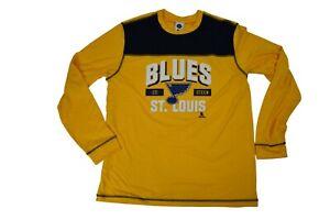 NHLPA Mens NHL St. Louis Blues Alexander Steen Shirt NWT L