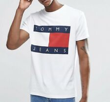 Tommy Hilfiger Flag Logo Crew Neck T-Shirt