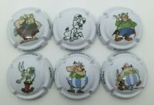 Série de 6 Capsules de champagne Veuve Éléonore Asterix. TE