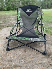 Mossy Oak Obsession Nwtf Hunting Chair Wild Turkey Seat Gobbler Chair.