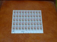 United States Scott 1580 the Non denominated Christmas  sheet of 50 stamps Mint