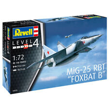 "Revell MiG-25 RBT ""Foxbat B"" Military Aircraft Model Kit - Scale 1:72 - 03878"
