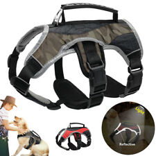 No Pull Dog Adjustable Harness Vest with Lift Handle Support Training S M L XL