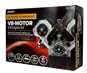 V8-Motor - Der große Technikbausatz Motorbausatz mit Anleitungsbuch NEU & OVP