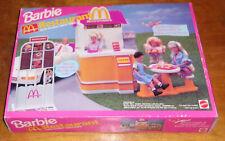 1994 Barbie McDonald's Restaurant With Talking Drive-Thru
