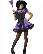 Halloween Costume Adult Woman Dust Bunny French Maid  XS 3-5 New! gothic lolita