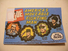 vintage GiJoe ACTION GI JOE 12'' Action MAN 1967 Booklet Comic BD RARE