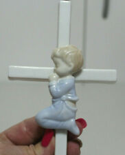 The Valencia Collection Baby Boy Cross by Roman Baptism Prayer Porcelain C1