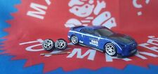 Silver 1/64  P1 Rubber Wheels 6 Thin Spoke Real Riders Hot Wheels Matchbox Ford