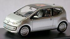 VW Volkswagen up up! 5-türig 2011-16 silber silver metallic 1:43