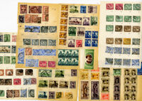 Egypt Stamps Unusual Early Mostly Used Singles Multiples