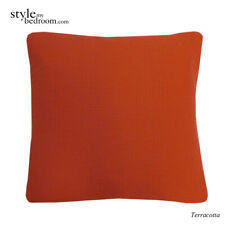 """100% Cotton Honeycomb Waffle Woven Filled Cushions or Cushion Covers 18"""" / 45cm"""