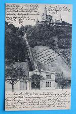 AK Luzern 1907 Hotel Gütsch Restaurant Gütschbahn Gebäude Architektur uvm...