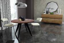 runder Tisch rund Esstisch Akazie massiv Massivholztisch Modern Kolonial Ø100 cm