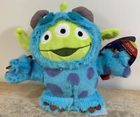 "Disney Pixar Toy Story Alien Remix Sulley 8 ½"" Plush Limited Release NWT"