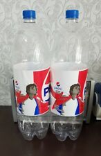 Michael Jackson Collectible Pepsi Bottle Rare 2018 from Azerbaijan 2-pcs