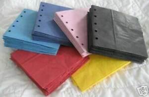 25 prepared paper bag scrapbook album paper piecing's DIY