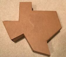 State of Texas Cardboard Gift Box