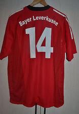 BAYER LEVERKUSEN GERMANIA 2002 Match Worn Issue FOOTBALL SHIRT JERSEY TRIKOT #14