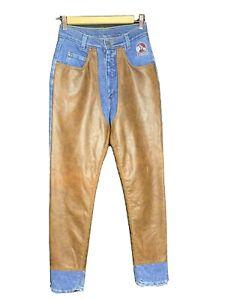 Cottage Craft Ladies Equestrian Riding Chaps / Jeans / Trousers Size 28 (D4)