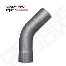 "Diamond Eye 524521  4"" Stainless Steel Universal 45 Degree Exhaust Elbow"