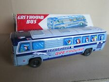 29H Kyowa Japan 49 Bus Greyhound Scenicruiser toy Ancient in Plate to Friction